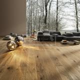 Extra široká podlahová prkna - Rudda Dub Colorado, Ručně škrábaný, hoblovaný, olej