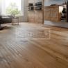 Extra široká podlahová prkna - Dub rustikal, hoblovaný, fáze, olej