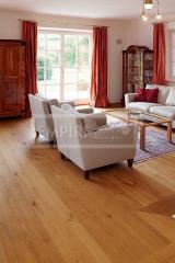 Masivní dřevěné podlahy - Rudda Dub Gusthof hladký povrch olej