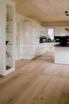 Extra široká podlahová prkna - Rudda Dub Gusthof, kartáčovaný, bílý olej