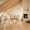 Dvouvrstvé dřevěné podlahy - Javor kanadský parketa
