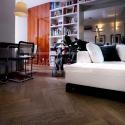 Dvouvrstvé dřevěné podlahy - parketa Dub Natur Brunet