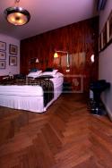 Dvouvrstvé dřevěné podlahy - Dub antik brunet kartáčovaný parketa