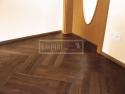 Dvouvrstvé dřevěné podlahy - Americký ořech parketa