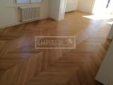 Dvouvrstvé dřevěné podlahy - Dub Select/Natur, CHEVRON přírodní olej. Francouzský vzor