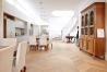 Dvouvrstvé dřevěné podlahy - Dub CHEVRON, francouzsk vzor, bílý olej.