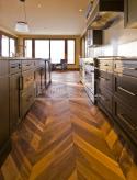 Dvouvrstvé dřevěné podlahy - Dub kouřový, rustik, francouzský vzor
