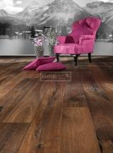 Třívrstvé dřevěné podlahy - Dub Pamirs / Artisan, ručně škrábaný
