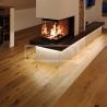 Třívrstvé dřevěné podlahy - Dub Traditional, jemný kartáč, fáze, olej 5G click