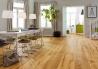 Třívrstvé dřevěné podlahy - Dub Grand Rustikal Country, jemný kartáč, olej, fáze