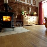 Třívrstvé dřevěné podlahy - Dub rustikal kartáčovaný