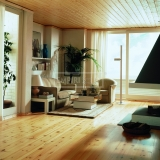 Třívrstvé dřevěné podlahy - Modřín kartáčovaný