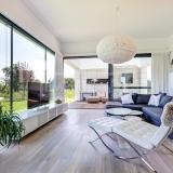 Třívrstvé dřevěné podlahy - Dub kouřový bělený Dachstein