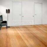 Třívrstvé dřevěné podlahy - Dub rustikal, jemný kartáč, fáze, přírodní olej, Mix Šířek
