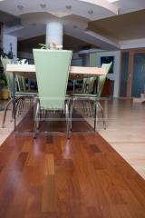 Třívrstvé dřevěné podlahy - Doussie 3-lamela