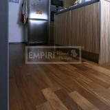 Třívrstvé dřevěné podlahy - Iroko 3-lamela