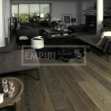 Třívrstvé dřevěné podlahy - Dub natur kouřový bílé decapé