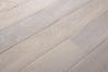 Třívrstvé dřevěné podlahy - Dub katrovaný, bílý olej