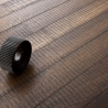 Třívrstvé dřevěné podlahy - Dub Rustikal katrovaný, Nero