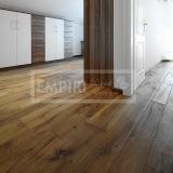 Třívrstvé dřevěné podlahy - Dub Caucasus / Artisan, kouřový, ručně škrábaný, olej, fáze