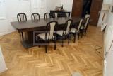 Dvouvrstvé dřevěné podlahy - parketa Dub Standart (rustikal se suky a zábehy běle)