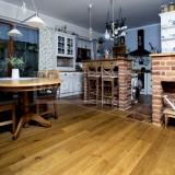 Masivní dřevěné podlahy - Dub natur/rustikal