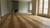 Masivní dřevěné podlahy - Chevron Francouzský vzor Dub Natur/Rustik kartáč
