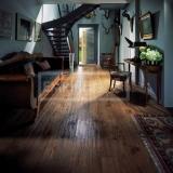 Masivní dřevěné podlahy - Dub evropský rustikal hoblovaný