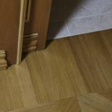 Podlahové lišty a naše práce s detaily - čistý dořez