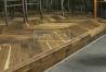 Podlahové lišty a naše práce s detaily - hrana z parket