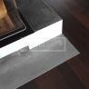 Podlahové lišty a naše práce s detaily - wenge krb