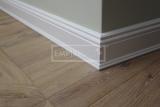 Podlahové lišty a naše práce s detaily - atip lišta ral 9010 profilovaná