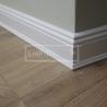 Podlahové lišty a naše práce s detaily - atyp lišta ral 9010 profilovaná