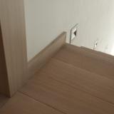 Podlahové lišty a naše práce s detaily - Obvodová Lišta Cube 631