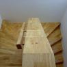 Masivní schody - Masivní schody HEVEA