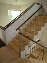 Masivní schody - Masivní schody JAVOR