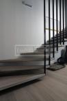 Masivní schody - Masivní schody DUB bělený