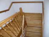 Masivní schody - Masivní schody DUB klasik