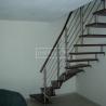 Masivní schody - Masivní schody BUK mořený