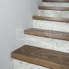 Ukázky realizací - obložení schodiště - obložení schodů Dub Solidfloor Nevada