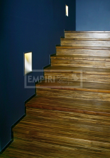 Obložení a renovace schodů - obložení schodů Dub kouřový moderline