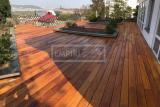 Dřevěná terasová prkna - Garapa krátká A/B 21X145X915 a 1830 mm hladká/jemná drážka