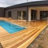 Dřevěná terasová prkna - Modřín sibiřský hladký