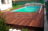 Dřevěná terasová prkna - Bangkirai