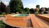 Dřevěná terasová prkna - Garapa A/B 21x145 hladká/jemná drážka