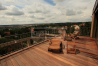 Dřevěná terasová prkna - Garapa 25x145 jemná/hrubá drážka