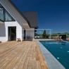 Dřevěná terasová prkna - Modřín sibiřský jemná drážka nebo kartáčovaný/hladký