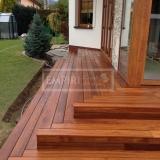 Dřevěná terasová prkna - Teak 19x90 iclip system