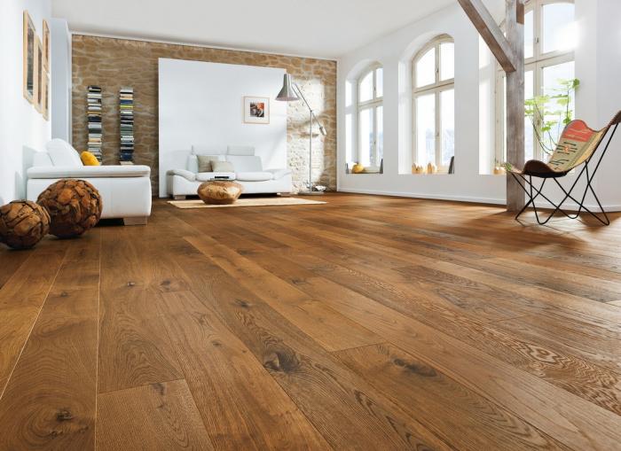 Třívrstvá dřevěná podlaha Dub JUMBO