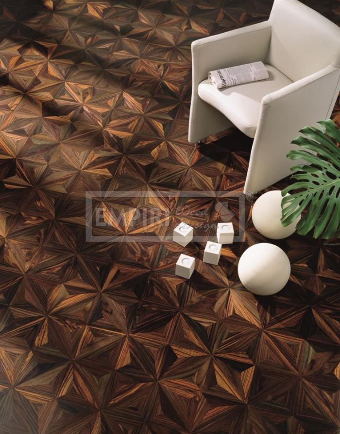 Mozaikové parkety Palisander little star